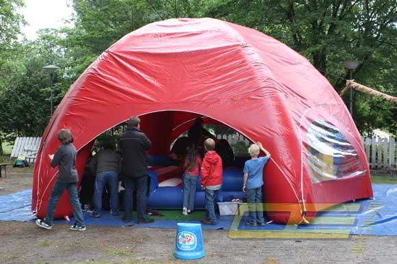 event dome rot mieten