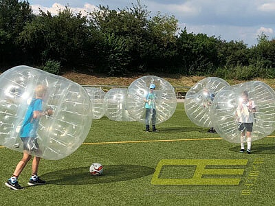 Bubble Bumper Football Soccer mieten