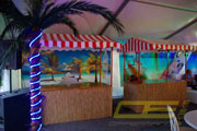 beach party buffetstand spielstand mieten