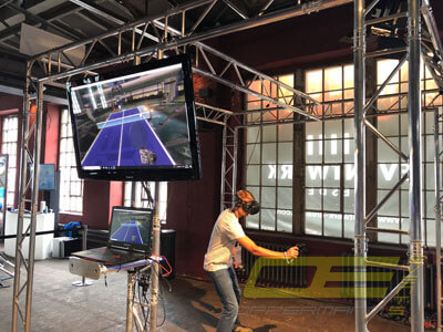 Mobile VR Virtual Reality Event Arena mieten für Messe und Event
